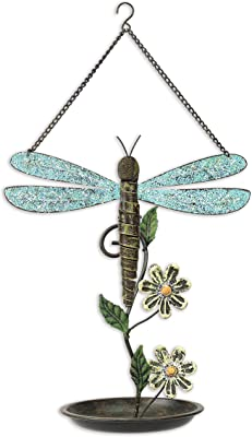 Sunset Vista Designs Dragonfly Birdfeeder, 13-Inch