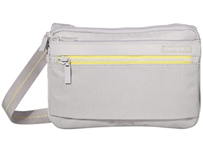 Hedgren Sally RFID Crossbody with Safety Hook (Active Grey) Cross Body Handbags