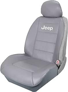 Plasticolor 008581R25 Jeep Elite Grey Sideless Seat Cover
