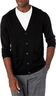 Amazon Brand - Goodthreads Men's Merino Wool Cardigan Sweater