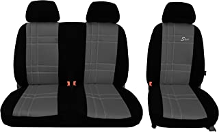 POKTER ALC T5 Transporter Maßgefertigte Sitzbezüge (S Type Grau)