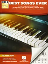 Best Songs Ever Super Easy Piano Songbook