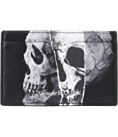 Alexander McQueen - Torn Skull Card Holder