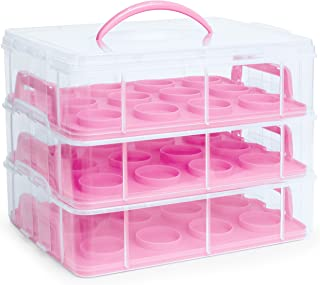 Best 3 tier cupcake carrier Reviews