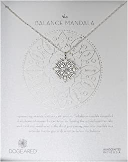 Dogeared - Balance Mandala Center Circle Necklace