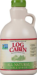 Log Cabin Table Syrup, All Natural , 22 oz