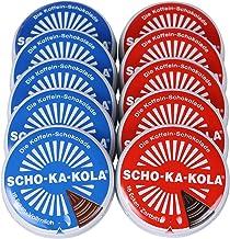 SCHO-KA-KOLA - Paquete agridulce de 5 paquetes (5 x 100 g) y leche entera paquete de 5 (5 x 100 g)