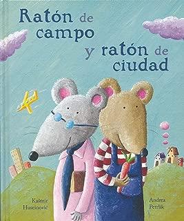 Ratón de campo ratón de ciudad (Leetra World Literature for Children-k3) (Spanish Edition)