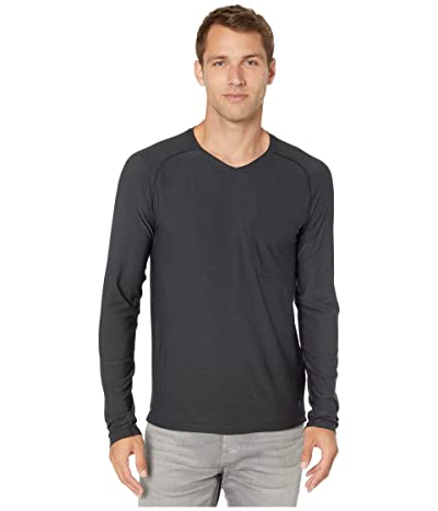 Royal Robbins Bug Barriertm Tech Travel Long Sleeve Shirt (Jet Black) Men
