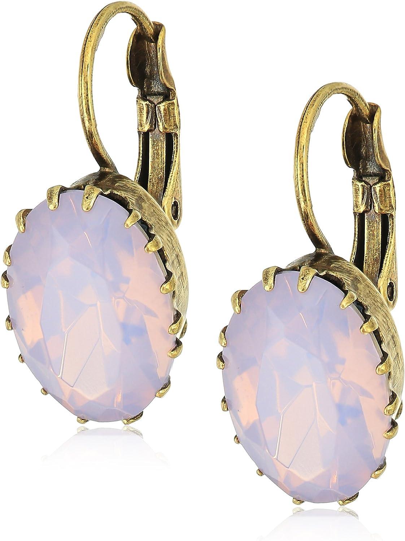 Sorrelli Crown Jewel French Wire Earrings