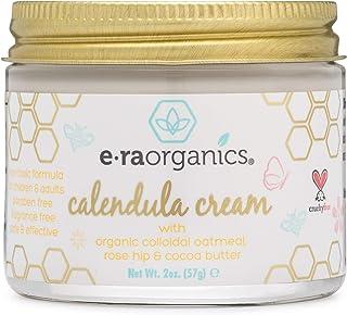 Era Organics Calendula Rash & Baby Acne Cream – Extra Soothing Moisturizing Cream For Sensitive Skin Prone to Baby Eczema,...