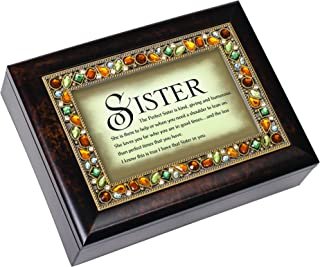 The Perfect Sister Italian Style Musical Jewelry Box by Cottage Garden by Cottage Garden