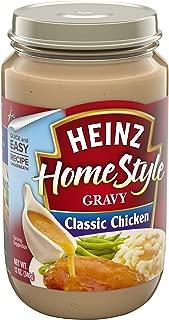 Heinz Homestyle Chicken Gravy (12 oz Jars, Pack of 12)