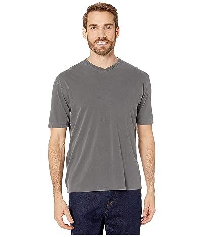 Mod-o-doc San Diego Short Sleeve V-Neck (Charcoal) Men