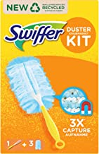 Swiffer Magnes na kurz (uchwyt + 3 ręczniki) miotełka do kurzu idealna do kurzu, sierści zwierząt i alergenów