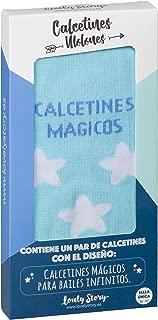 LOVELY STORY CALCETIN INDIVIDUAL MUJER TALLA UNICA CON LA FRASE: CALCETINES MAGICOS PARA BAILES INFINITOS