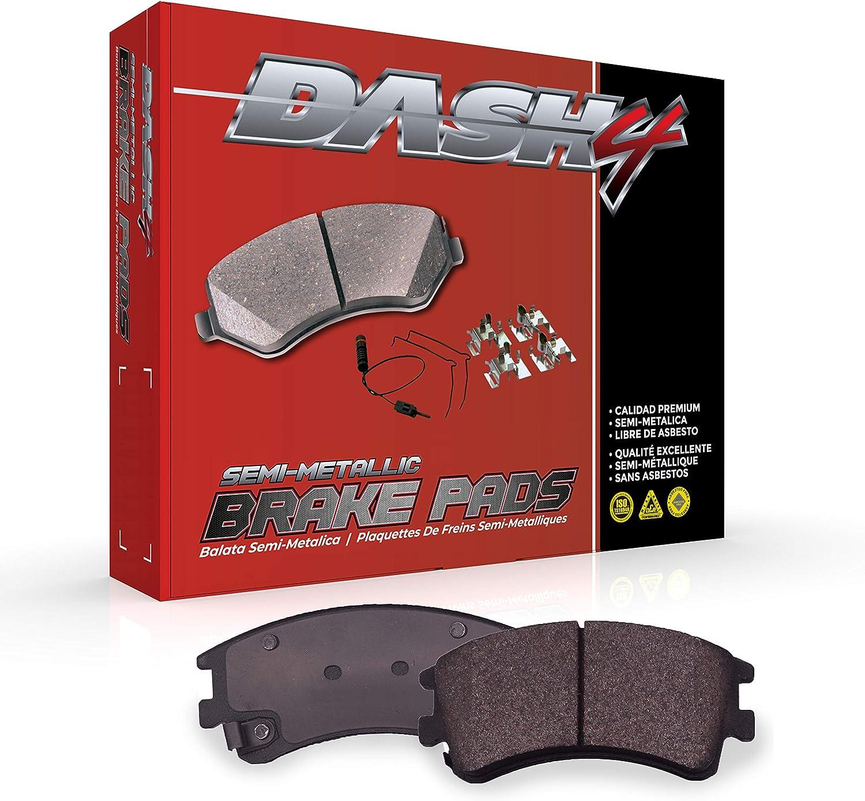 Dash Reservation 4 MD966 Premium Brake Al sold out. Semi-Metallic Pad