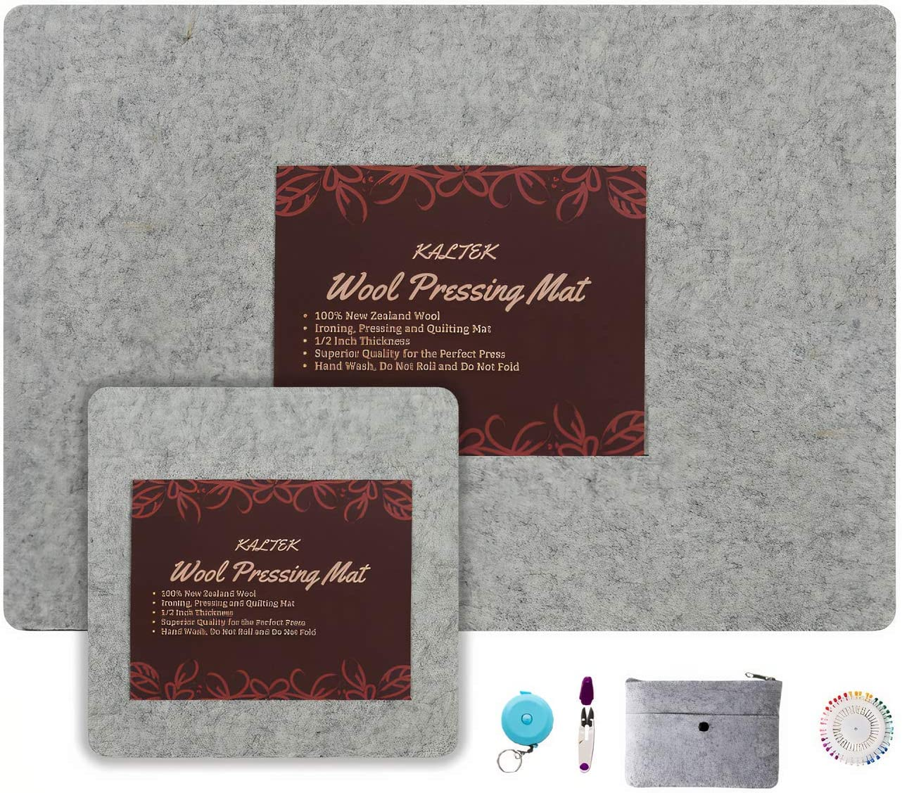 Wool Pressing Mat Max 66% OFF Set Deluxe 2 Pack 24 10 Manufacturer regenerated product Includes 1 x17 and x