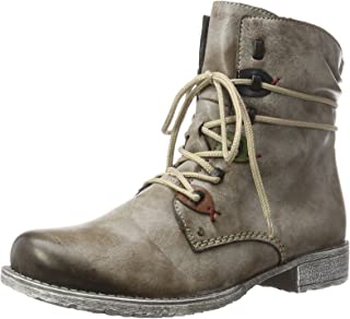 women's distressed combat boots