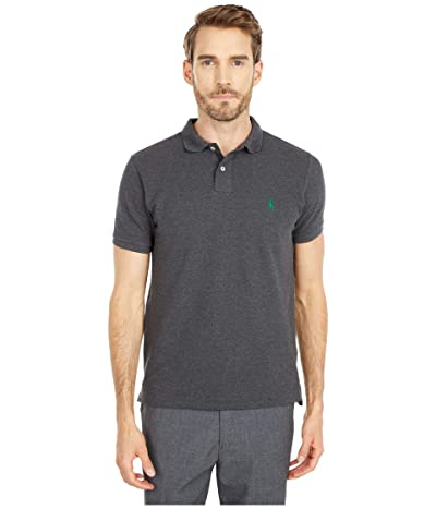 Polo Ralph Lauren Custom Slim Fit Mesh Polo (Barclay Heather) Men