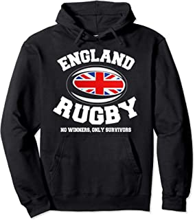 ENGLAND RUGBY No Winner Only Survivors Hoodie