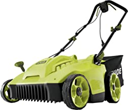 Sun Joe MJ506E 16 in 6.5 Amp Quad Wheel 24 Blade Electric Reel Lawn Mower w/ Grass Catcher