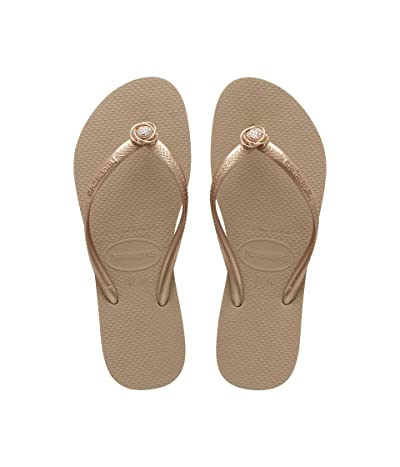 Havaianas Slim Crystal Rings Sandal