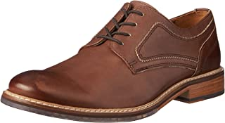 ROCKPORT Men's Dress Comfortable Wyat Plain Toe Shoe, Brown