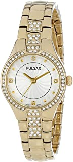 Pulsar Women's PH8060 Analog Display Japanese Quartz Gold Watch