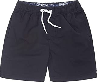 ICE CROSS Older Boys Swimsuit Beach Shorts, YouthQuick Dry Board Shorts with Mesh Lining