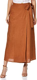 AND Linen a-line Skirt