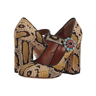 Etro Jacquard Heel (Gold) High Heels