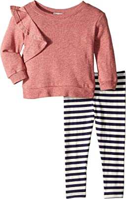 Ruffle Sweatshirt Set (Infant)