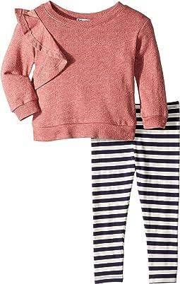 Ruffle Sweatshirt Set (Infant)