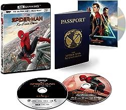 【Amazon.co.jp限定】スパイダーマン:ファー・フロム・ホーム 4K ULTRA HD & ブルーレイセット(初回生産限定)(特典 スペシャル・ボーナスディスク付) [4K ULTRA HD + Blu-ray]