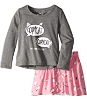 Kate Spade New York Kids - Copycat Skirt Set (Toddler/Little Kids)
