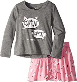 Copycat Skirt Set (Toddler/Little Kids)