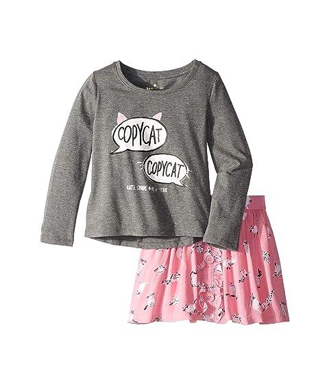 Kate Spade New York Kids Copycat Skirt Set (Toddler/Little Kids)