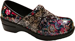 Savvy Women's Brandy\Jane\Happy Slip Resistant Nursing \ Workwear Slip On Clog \ Mary Jane