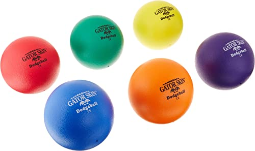 S&S Worldlarge Gator Skin Dodgeballs (set of 6) by S&S Worldlarge