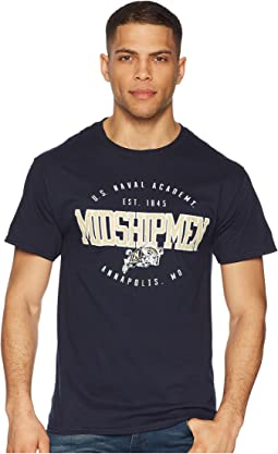 Champion College - Navy Midshipmen Jersey Tee 2