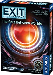 Thames & Kosmos EXIT - The Game | 692879| The Gate Between Worlds| Difficulty Level: 3 out of 5| Unique Escape Room Game, ...