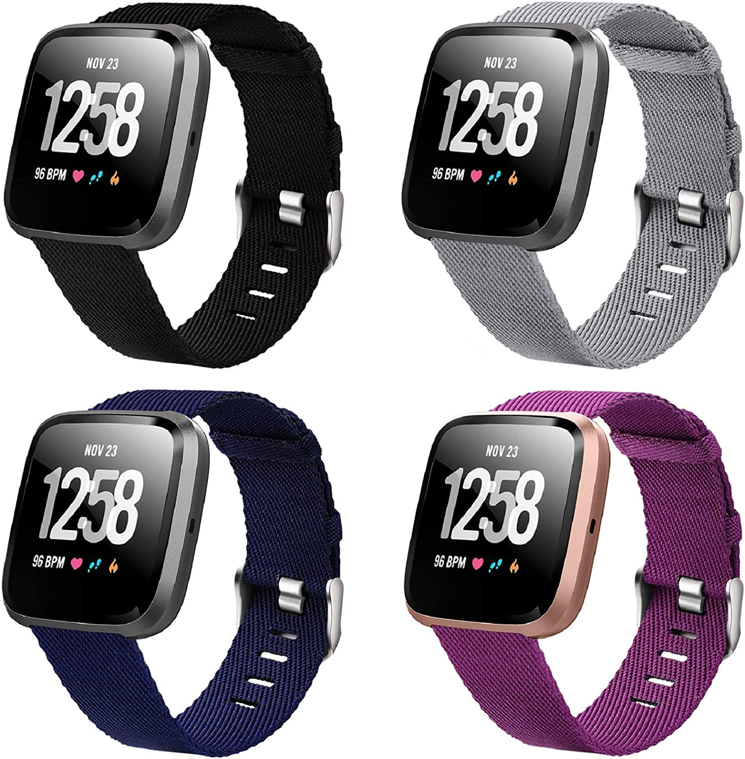 Laneco Bands Compatible with Fitbit Versa Max 89% Chicago Mall OFF 2