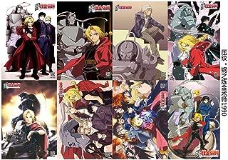 8 pcs Anime Fullmetal Alchemist Edward & Characters Poster Prints Set ~US Seller~ #1990