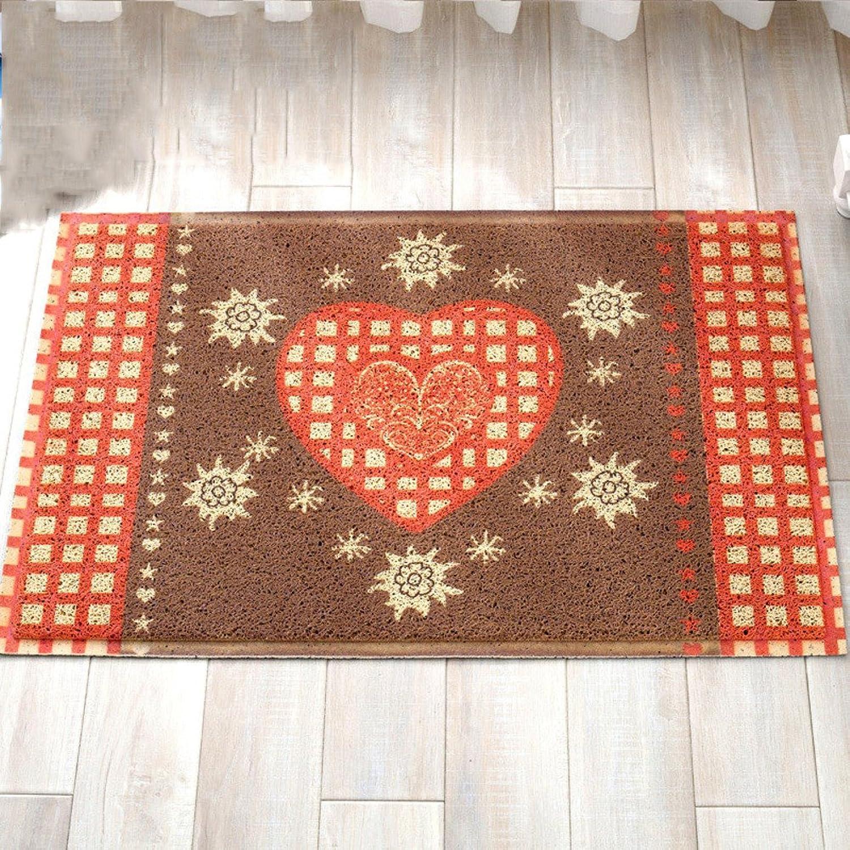Mats Carpet Bathroom Bedroom Living Room Water Absorbent Non-Slip mat Foot pad-B 80x120cm(31x47inch)