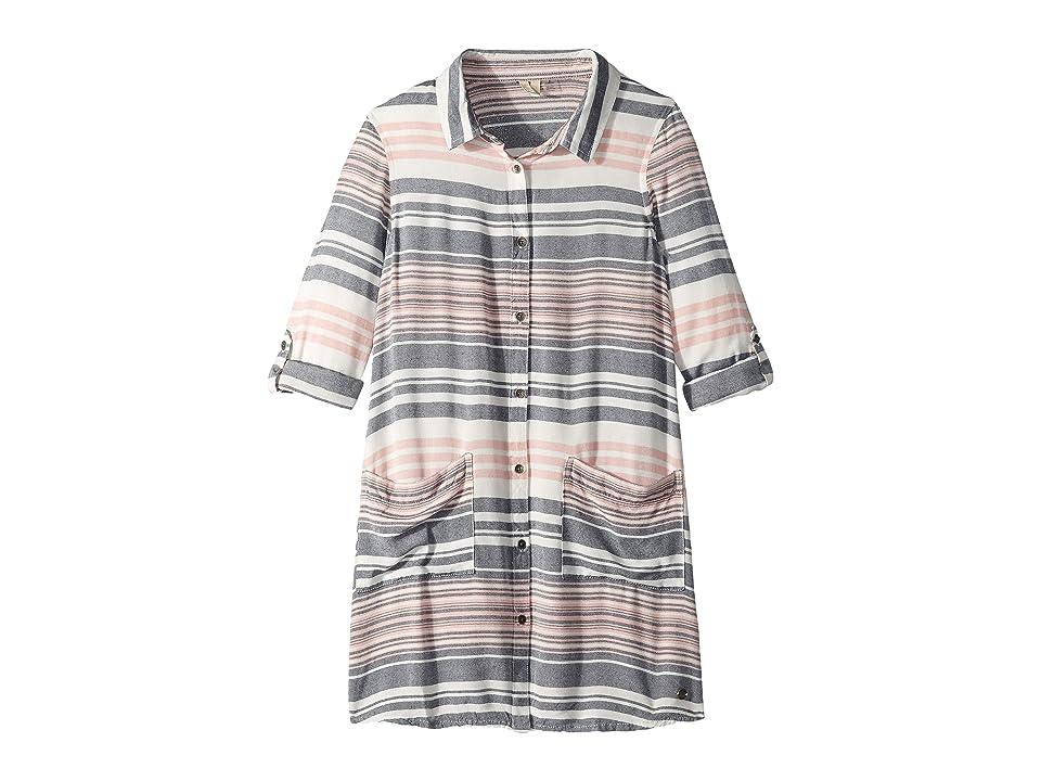 Roxy Kids Walk My Way Shirtdress (Big Kids) (Lob Bisque Nautical Stripes) Girl