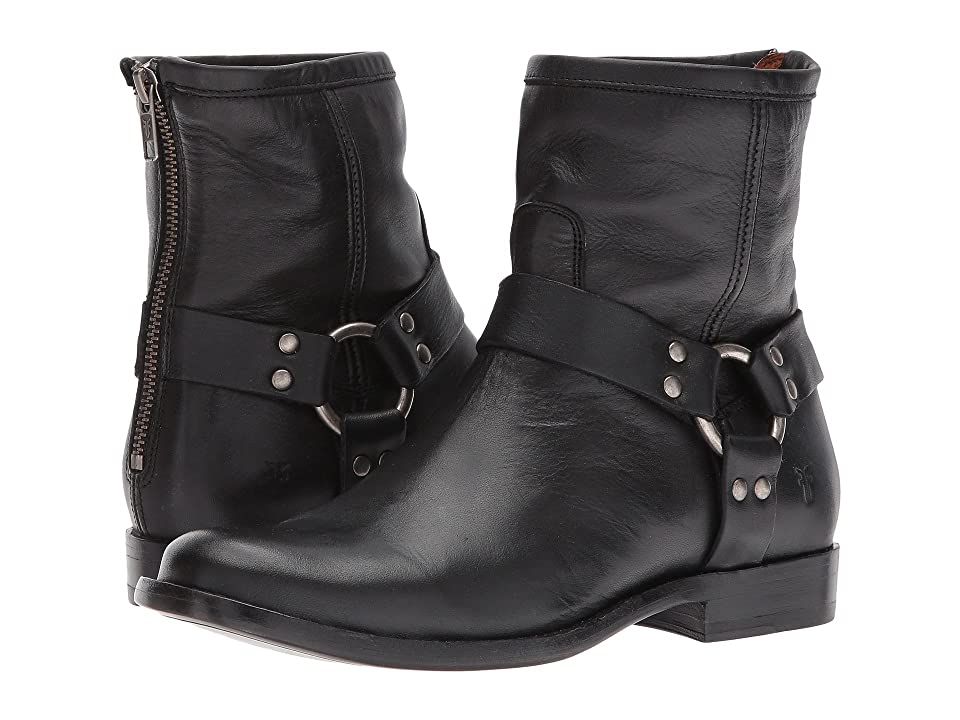 Frye Phillip Harness Short (Black) Women