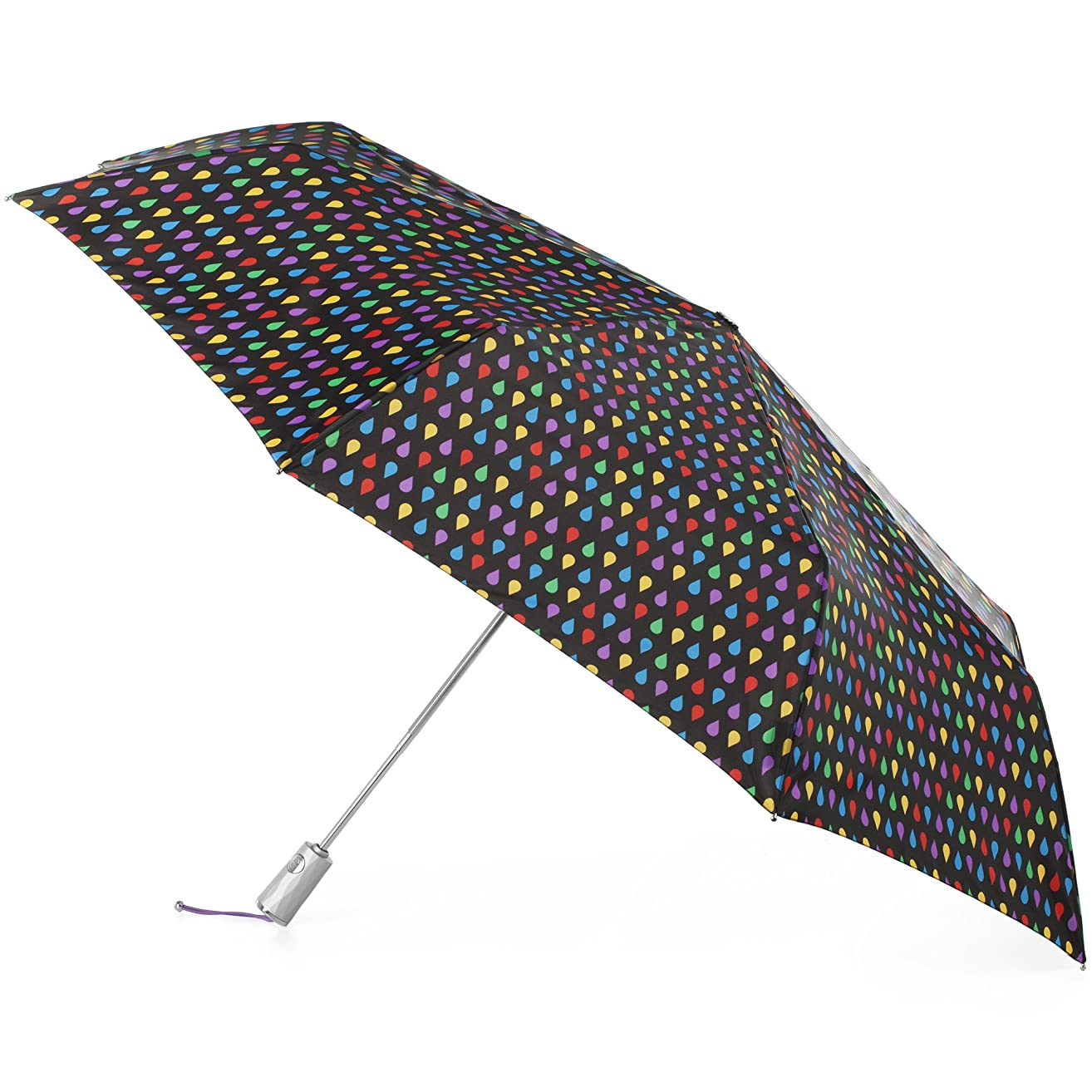 totes Auto Open Close Golf Size Umbrella with NeverWet and SunGuard