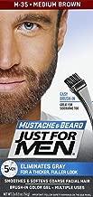 Just For Men Moustache & Barbe M35 Coloration Barbe, Châtain Moyen, 28 g