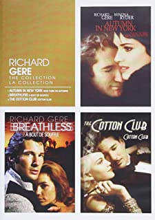Richard Gere: The Collection Autumn in New York / Breathless / The Cotton Club